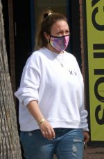 HAYLIE DUFF at Alfred Coffee in Studio City 06/24/2020
