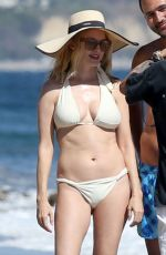 HEATHER GRAHAM in Bikini at a Beach in Malibu 06/08/2020