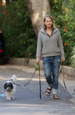 HELEN HUNT Out with Her Dogs in Pacific Palisades 06/28/2020