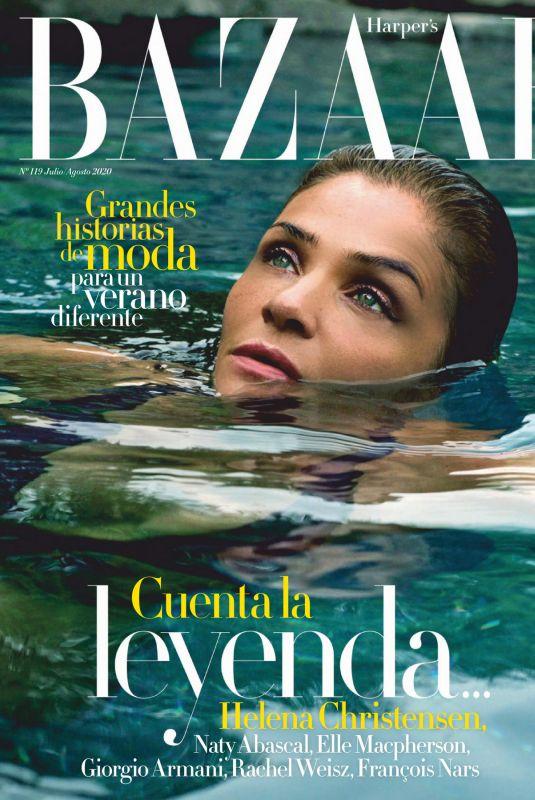 HELENA CHRISTENSEN in Harper's Bazaar Magazine, Spain July/August 2020