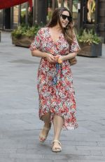 HELLY BROOK Heading to Heart Radio in London 06/26/2020