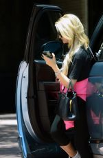HOLLY MADISON Out in West Hollywood 06/15/2020