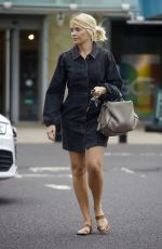 HOLLY WILLOGHBY Out Shopping at Marks & Spencer in London 06/19/2020