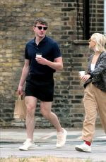 INDIA MULLEN and Paul Mescal Out in London 06/17/2020