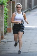 INDIA MULLEN Out Jogging in London 06/03/2020