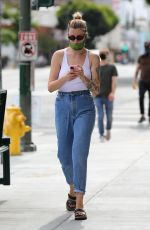IRELAND BALDWIN Heading to Join Protests in Hollywood 06/02/2020