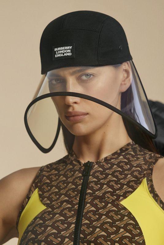 IRINA SHAYK for Burberry Pre-fall 2020