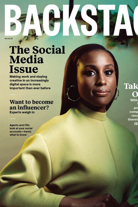 ISSA RAE for Backstage Magazine, April 2020