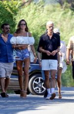IZABEL GOULART Out with Friends in Saint-Tropez 06/08/2020