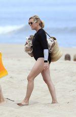 JANE KRAKOWSKI Out on the Beach in Hamptons 06/29/2020