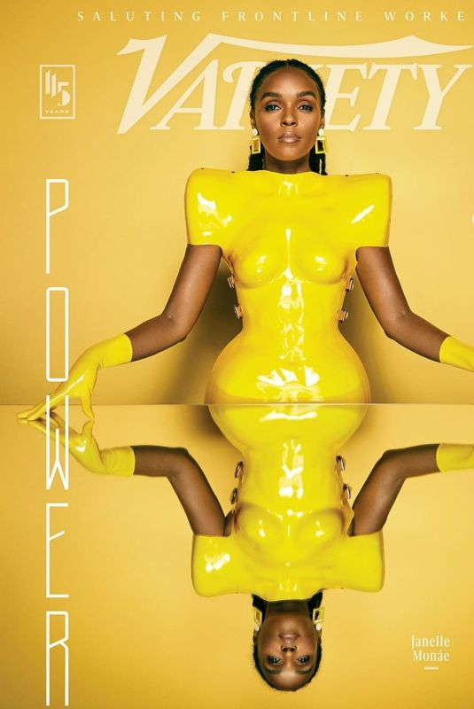JANELLE MONAE for Variety, Power of Women Issue 2020