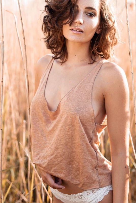 JANINA SCHIEDLOFSKI at a Photoshoot, 2019/2020
