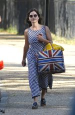 JENNA LOUISE COLEMAN at a Picnic in a Park in London 06/25/2020