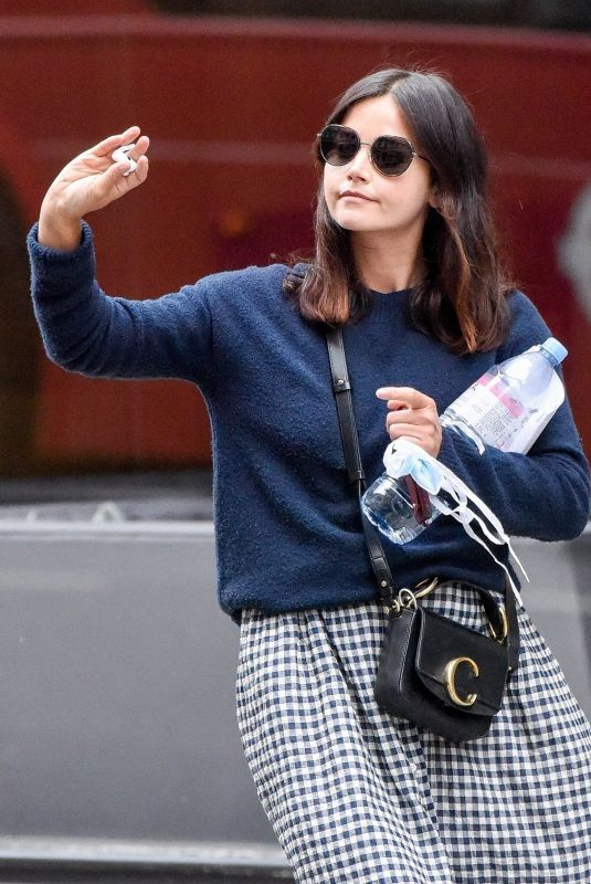JENNA LOUISE COLEMAN Out and About in London 06/04/2020