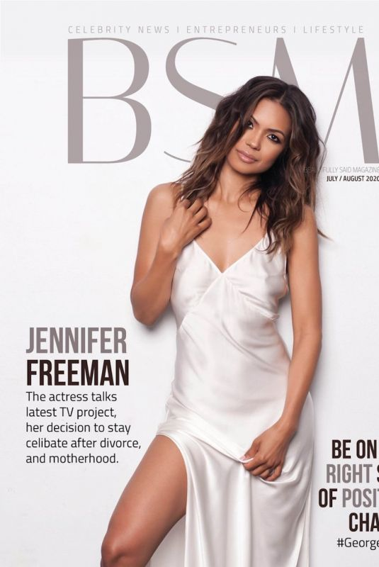 JENNIFER FREEMAN on the Cover of BSM Magazine, July/August 2020