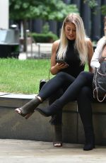 JESS and EVE GALE Out in London 06/18/2020