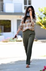 JESSICA GOMES Wearing Bandana Mask Out in West Hollywood 06/17/2020
