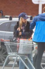 JODIE COMER Shopping at Sainsbury