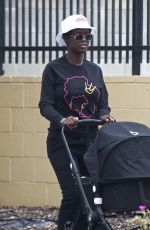 JODIE TURNER-SMITH Out in Los Angeles 06/18/2020