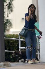 JORDANA BREWSTER in Ripped Denim Out in Brentwood 06/06/2020