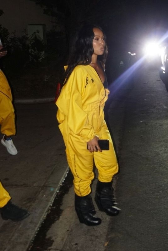 KARRUECHE TRAN Leaves Teyana Taylor\s Album Listening Party in Beverly Hills 06/17/2020