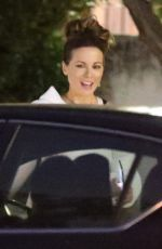 KATE BECKINSALE and Goody Grace at In-N-Out Burger in Los Angeles 06/06/2020