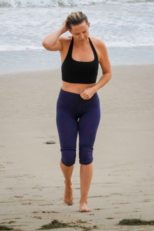 KATE HUDSON Out on the Beach in Malibu 06/24/2020