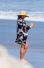 KATE HUDSON Out on the Beach in Malibu 06/26/2020