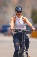 KATE HUDSON Out Riding a Bike in Malibu 06/02/2020