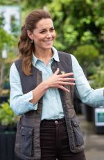 KATE MIDDLETON at Fakenham Garden Centre in Norfolk 06/19/2020