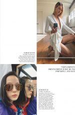 KATE MOSS, HELENA CHRISTENSEN, KARLIE KLOSS and JOAN SMALLS in Vogue Magazine, UK July/August 2020