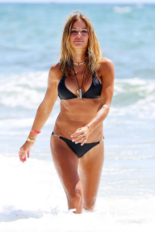 KELLY BENSIMON in a Melissa Odabash Bikini at Deerfield Beach in Florida 06/14/2020