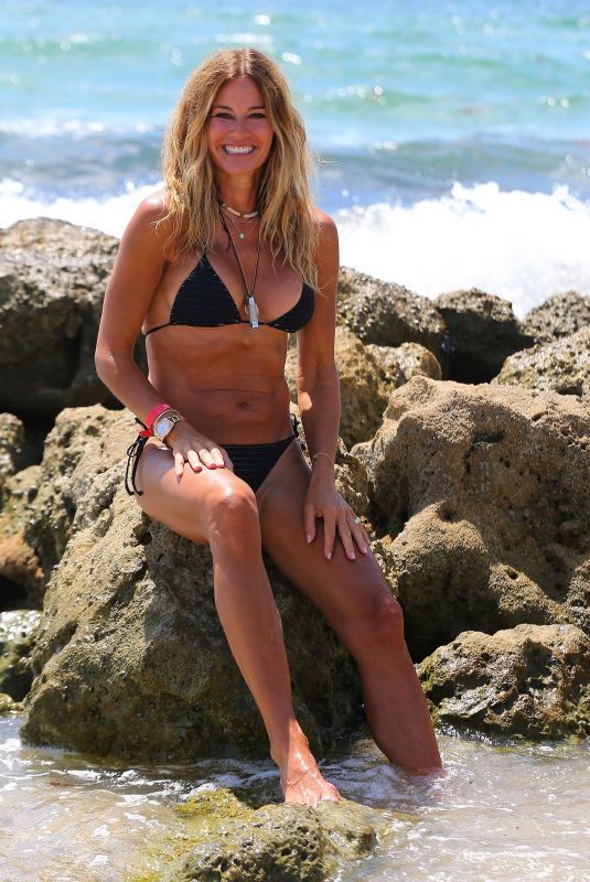 KELLY BENSIMON in Bikini at Deerfield Beach 06/17/2020