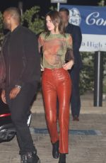 KENDALL JENNER Night Out in Malibu 06/16/2020