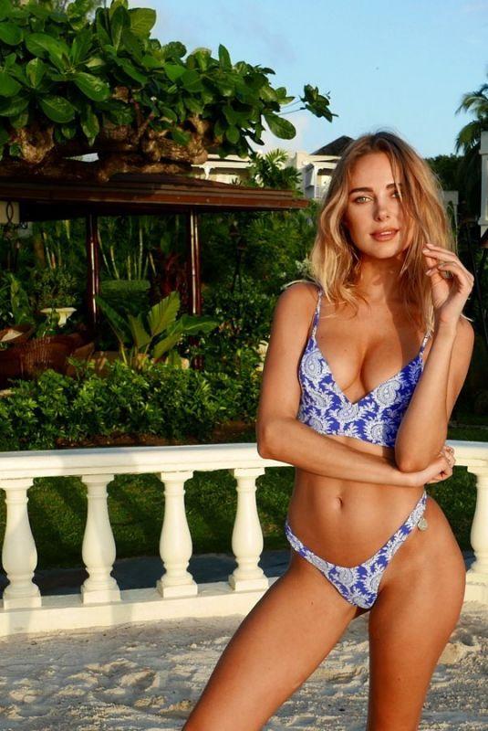 KIMBERLEY GARNER in Bikini at a Photoshoot, 05/25/2020