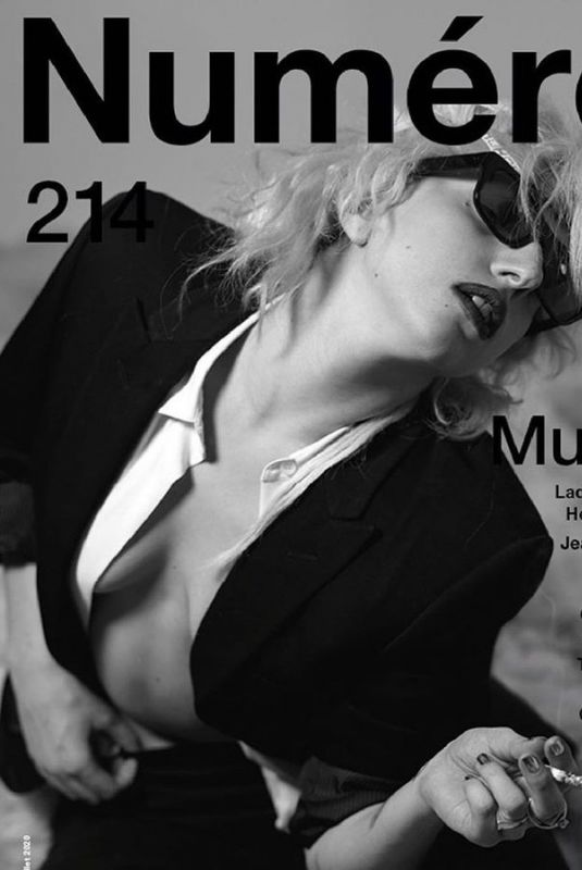 LADY GAGA in Numero Magazine, Music Issue 2020