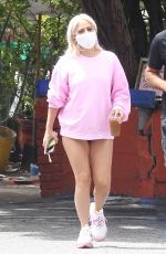 LADY GAGA Out in Hollywood Hills 06/19/2020