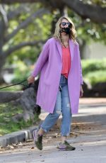 LAURA DERN Out with Her Dog in Pacific Palisades 06/02/2020