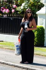 LAUREN GOODGER Out and About in Essex 04/26/2020