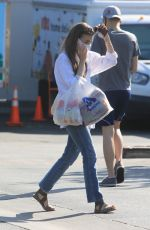 LILY COLLINS Out Shopping in Los Angeles 06/27/2020