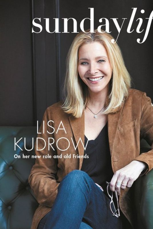 LISA KUDROW on the Cover of Sunday Life Magazine, 06/07/2020