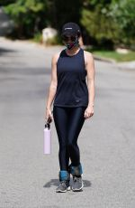 LUCY HALE Out Hiking at Fryman Canyon in Studio City 06/29/2020