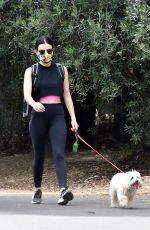 LUCY HALE Out Hiking in Studio City 06/02/2020