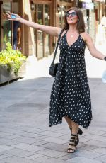 LUCY HOROBIN Arrives at Global Radio in London 06/16/2020