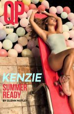 MACKENZIE ZIEGLER in QP Magazine, June 2020