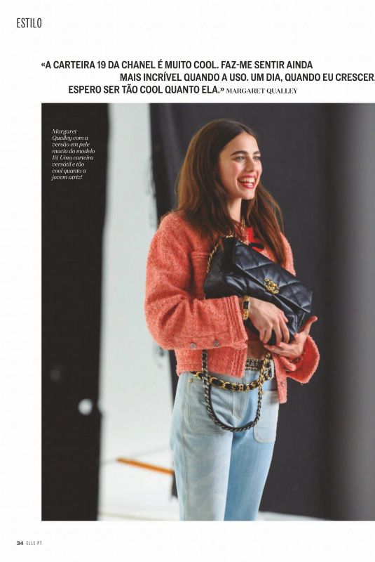 MARGARET QUALLEY in Elle Magazine, Portugal June 2020