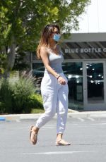 MARIA MENOUNOS Leaves Starbucks in Los Angeles 06/08/2020