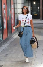 MELANIE SYKES Arrives at BBC Studios in London 06/06/2020