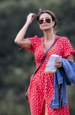 MELANIE SYKES Out at a Park in Primrose Hill 06/17/2020