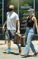 MILEY CYRUS and Cody Simpson Out Shopping in Calabasas 06/09/2020